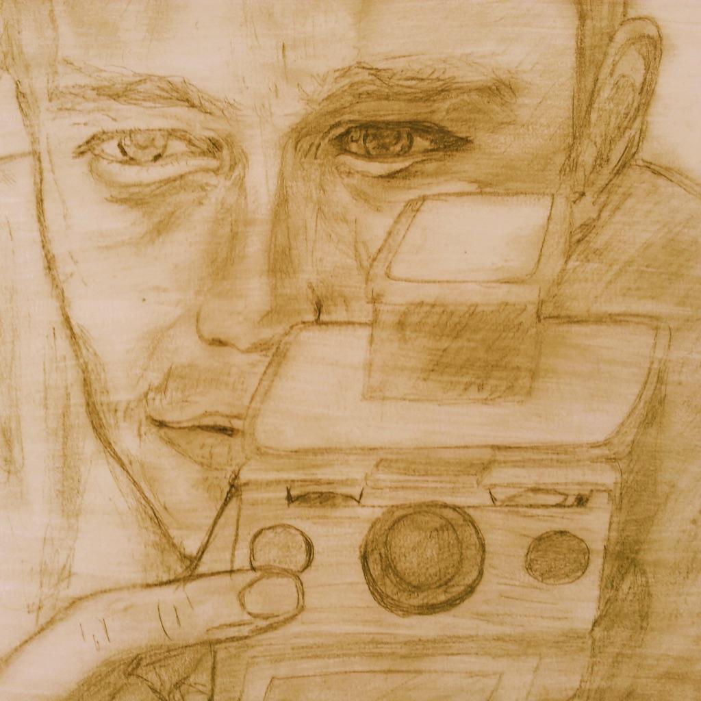 Esquisse d'Heath Ledger