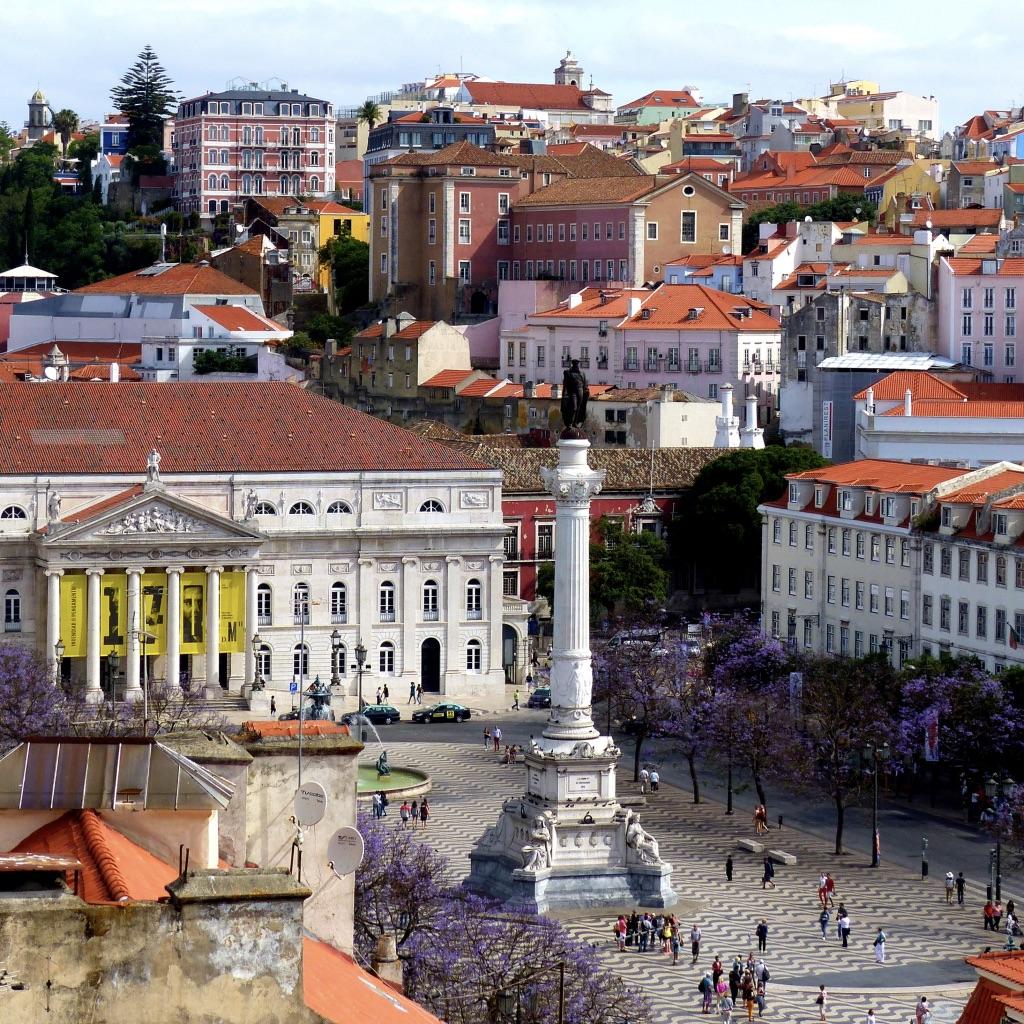 Lisbonne # 1 Baixa – Alfama