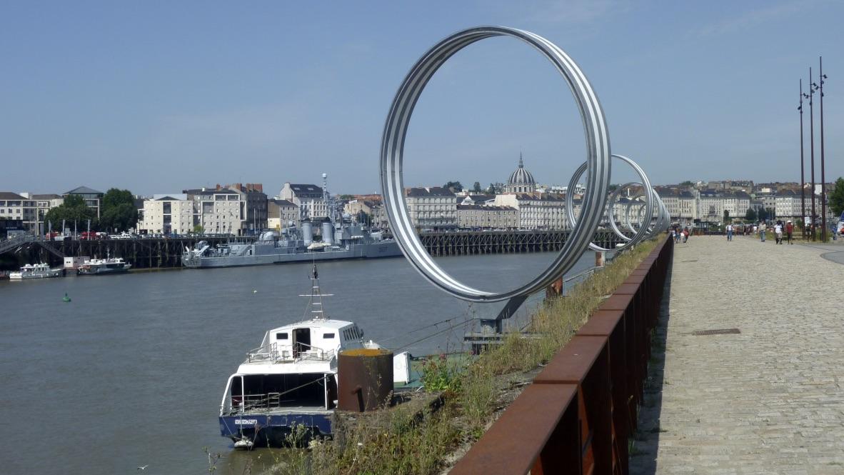 Autour de l'île de Nantes