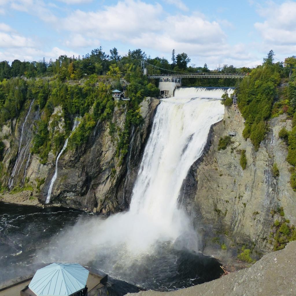 Québec 6 # Les chutes de Montmorency