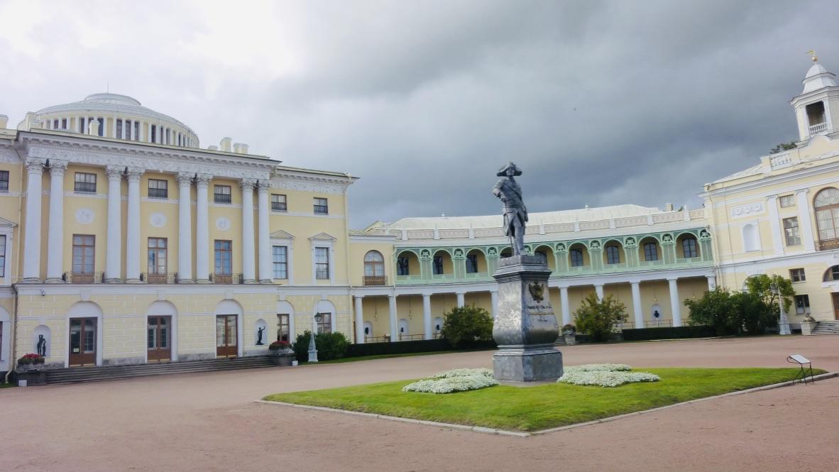 St Pétersbourg # 5 Palais Pavlovsk