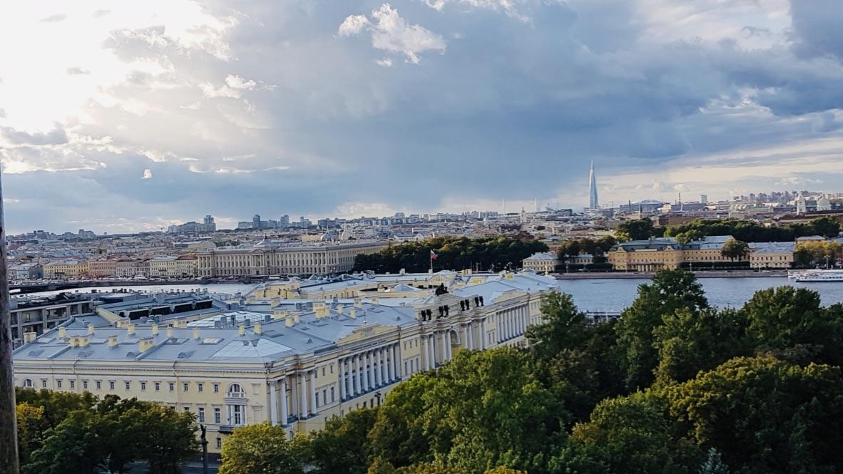 St Pétersbourg 8 # Vue à 360° sur la ville